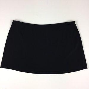 Victoria's Secret Black Skort Coverup